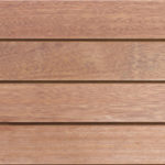 Contemporary wood decking